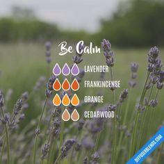 Be Calm - Essential Oil Diffuser Blend