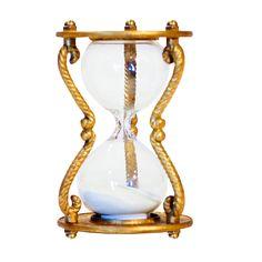 "Decorative Hourglass (4.5""x3"") Gold - Vip Home & Garden, Bright Gold"