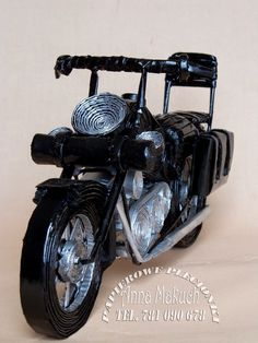 Papierowe plecionki Quilling, Paper Crafts, Vehicles, Journaling, Motorbikes, Manualidades, Bedspreads, Tissue Paper Crafts, Paper Craft Work