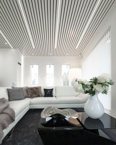 Image 2 of 10 from gallery of LED Strip Lights Strip Lighting, Lighting Ideas, Living Room Lighting, Led Strip, Interior Lighting, Home Renovation, New Homes, Ceiling Lights, Interior Design