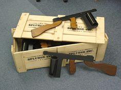 Plunge Productions :- Hire bugsy malone splurge guns