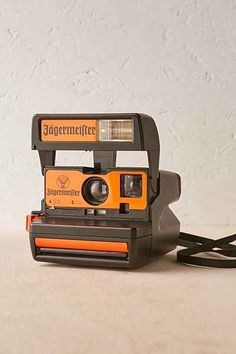 Impossible Project Jagermeister Rare Polaroid Camera - Urban Outfitters