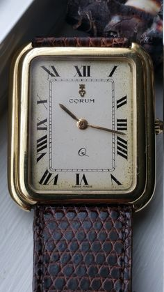 Beautiful 18K GOLD CORUM WATCH (All Offers Considered) by GUTR on Etsy