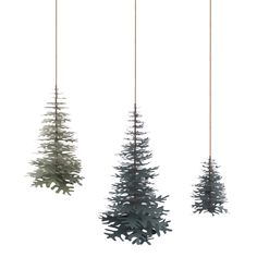 Nordic Fir Tree 3D Kit - Small - Fabulous Goose Scandinavian interior design products