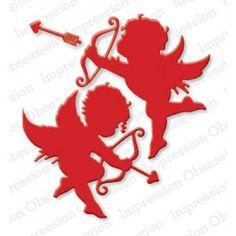 Impression Obsession Cupids Die Set IO-DIE125-M | Top Dog Dies