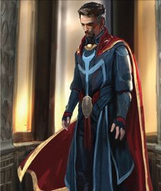 We have another amazing batch of concept art from Doctor Strange here providing some trippy alternate takes on the costumes worn by the Sorcerer Supreme, The Ancient One, and Baron Mordo. Marvel Doctor Strange, Marvel Comics Art, Marvel Heroes, Marvel Avengers, Marvel Concept Art, Serie Marvel, Young Avengers, Cosplay, Marvel Cinematic Universe
