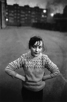 Anders Petersen. shes on an adventure, following something that tells her to explore, you can just tell.