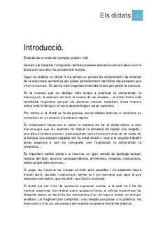 Els dictats1(1) School, Primary Classroom, Kids Education, Reading