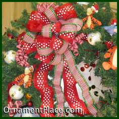 Classy Christmas Bows ideas - how to tie a bow on web site