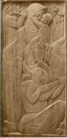 Ivan Mestrovic The Life of Christ: Ten Panels in Wood (1952)