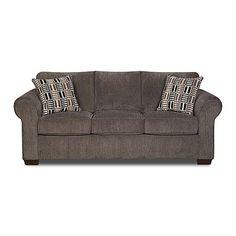 Simmons Upholstery Gray Lola Full-Size Sleeper Sofa