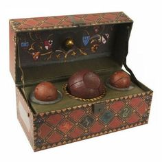 Harry Potter Quidditch Set Collectible