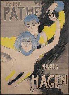 Walter Schnackenberg - German Theatre Poster by Walter Schnackenberg, 1918   1stdibs.com
