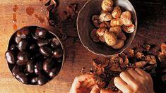 Kastanienpüree Vanilla, Powdered Sugar, Schokolade, Pies, Cooking Recipes