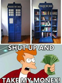 I don't even like Dr. Who and I want one! I'm sure I can hear Wendy's 'I want it!, from here. XD