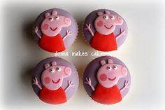 cupcakes de peppa - Buscar con Google