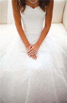 Love this dress!! The lace is beautiful!