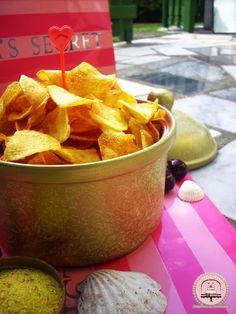 Domaći čips za savršenu filmsku večer | Happiness is Homemade Happy Kitchen, Snack Recipes, Snacks, Chips, Happiness, Homemade, Food, Snack Mix Recipes, Appetizer Recipes
