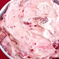 Raspberry Vanilla Jello Salad