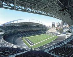 CenturyLink Field Tours--behind-the-scenes tour of the Seattle Seahawks football field, including press box, playing field, locker rooms. Only $7