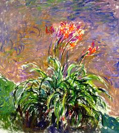 Claude Monet. Hemerocallis (1917).