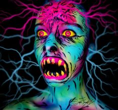 Les maquillages effrayants de Stephanie Fernandez - 2Tout2Rien