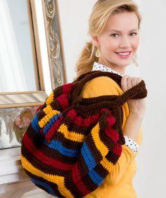 Phat Fat Bag Crochet Pattern | Red Heart