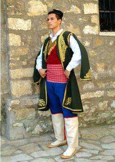 Serbian folk costumes - Montenegro