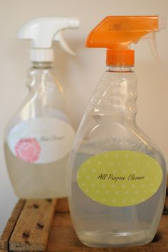 I can't stop crafting: Make Your Own Household Cleaners