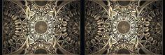 Design o qual foi inspirado nas mais belas formas simétricas, as mandalas.-Design which was inspired by the most beautiful and symmetrical shapes , Mandalas.