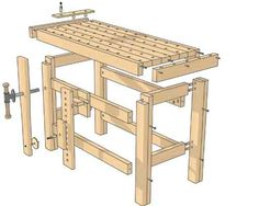 Make the perfect workbench - The Woodworkers Institute