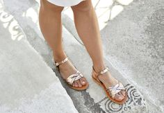 Insprired from the greek myth of Medusa, these sandals will add a lift to your entire wardrobe. Handcrafted in quality greek leather, they will put a new spring in your step. A design that pairs perfectly with your spring and summer dresses.   Our finest quality materials are:  Genuine leather for leather straps and insole, that comes from the island of Crete and it is famous for its superior quality and uniqueness. Two types of durable and flexible italian rubber are used for our handmade…