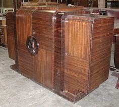 Deco-Dence Art Deco - Unrestored - Dining Buffet - Art Deco club chairs, bars, dining, bedroom, desks