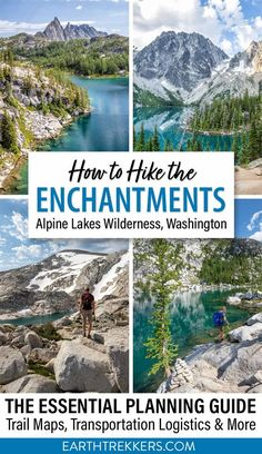 Everything you need to know to hike the Enchantments in the Alpine Lakes Wilderness of Washington. Includes maps, photos, transportation logistics, packing list, information about permits, and tips to have the best experience. #enchantments #hiking #adventuretravel #washington