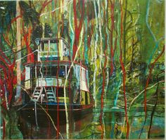 Peter Doig painting