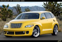 """Search """"chrysler pt cruiser"""" related products, page 1 My Dream Car, Dream Cars, Pt Cruiser Accessories, Chrysler Pt Cruiser, Mopar, Cars And Motorcycles, Automobile, Retro, Yellow"""
