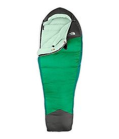 b3477c1dff3 The North Face Green Kazoo Womens Regular Right. Hiking Sleeping BagsKids  ...