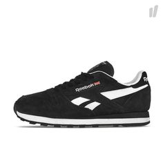 Reebok Classic Leather Suede - Black / White