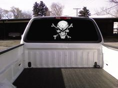 rear window decal for trucks or cars
