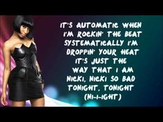 Nicki Minaj - Automatic Lyrics Video - YouTube