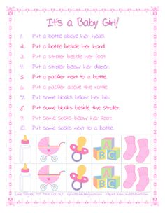 Spatial Directions: Baby Girl Theme