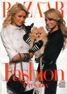 Paris Hilton & Nicole Richie - Harper's Bazaar June 2007