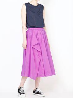ボリュームロングスカート|STUNNING LURE|STUNNING LURE online shop
