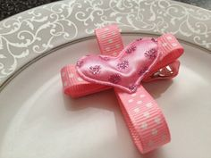 Christian Cross Hair Clip  Easter Hair Clip   by katelynnskloset, $4.50