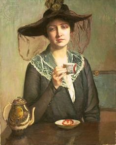 tea-tile de Lilla Cabot Perry