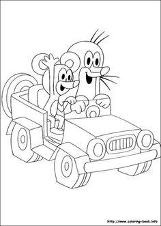 20 best jeep images coloring books coloring pages jeep truck Jeep Street Rod muldvarpen og musen i en jeep