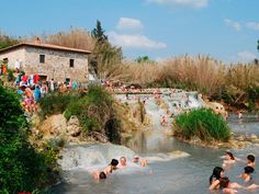 Take a dip in the most famous natural springs in southern Tuscany.  http://www.skyvalleyresort.com/