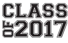 Graduation Class of 2017 | Class of 2017 Graduation Clip Art 6 | Free TheRoyalStore Clip Art