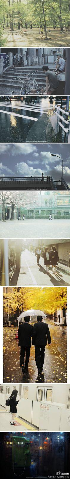 """東京与我.""""这一年里拍摄的东京。只有一年的停留实在太短暂,却正好足够目睹完整的四季。想要拼命珍惜的,怎么珍惜都还是会留下遗憾。还有太多镜头之外无法挽留的,只能留给记忆补完。"""" 作者:@摄影师Gabrielle"""