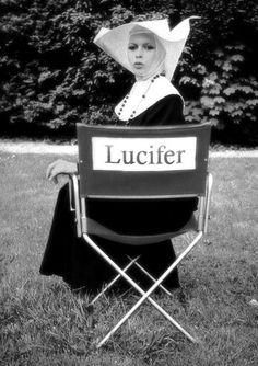 Brigitte Bardot / Lucifer Get outta my chair Brigitte Bardot, Bridget Bardot, Photo Star, Good Girl Gone Bad, Art Ancien, Wild Hearts, Monster, Occult, Christianity